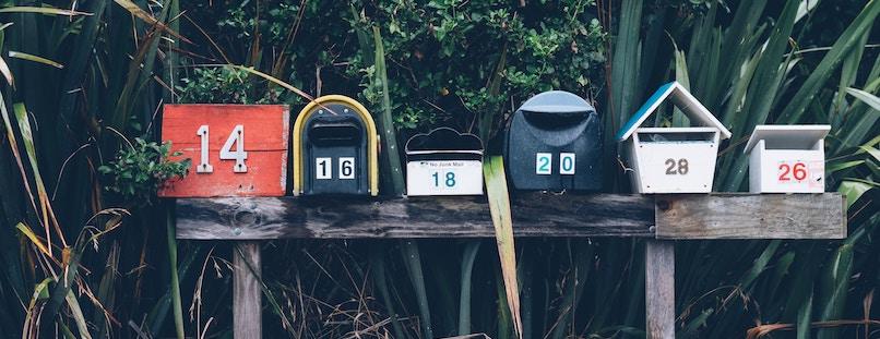 Rechnung per E-Mail oder Post